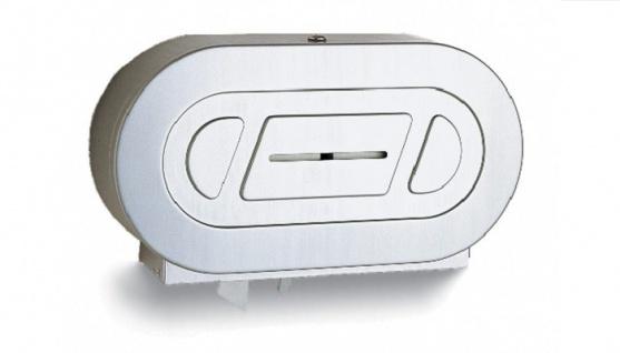 B-2892 Bobrick WC Papierspender für zwei Jumbo Rollen zur Wandmontage
