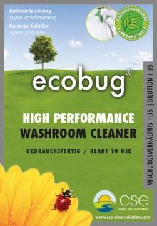 EcoBug® High Performance Washroom Cleaner - Gebrauchsfertige Lösung 1 L - Vorschau 2