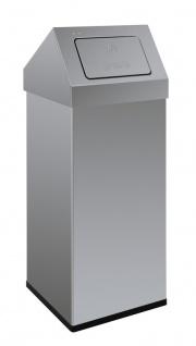 Carro-Push, Abfallbehälter mit Pushdeckel 110 Liter