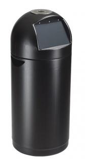Rossignol Cyvomax Abfallbehälter 52 Liter mit Einwurfklappe und mit Ascher