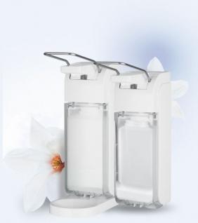 Metzger UNIVERSAL universeller Hygienespender geeignet für 500 und 1000 ml Flaschen - Vorschau 1
