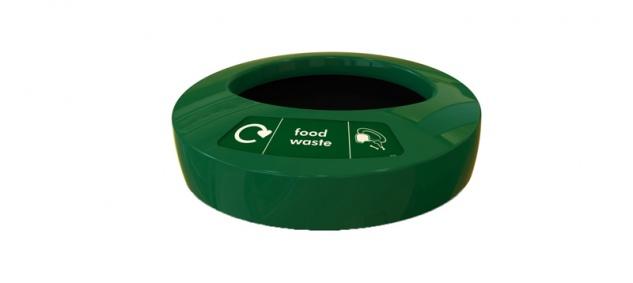 Deckel EcoAce food waste Grün