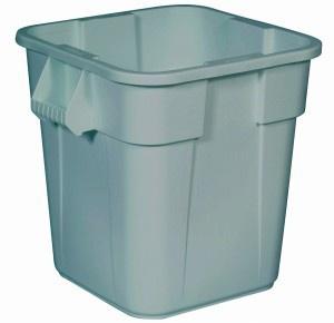 RUBBERMAID Quadratischer BRUTE® Container 106 l aus Polyethylen - Vorschau 2