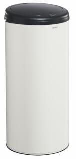 Hand Touch Abfallkorb 50L aus Stahl mit UV-Absorber Rossignol