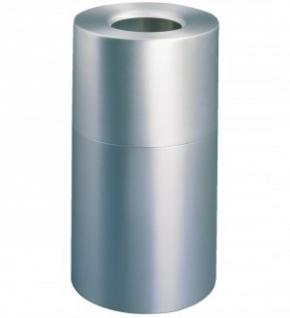 RUBBERMAID Atrium™ Aluminiumcontainer, Abfallbehälter 132, 5 l Aluminium