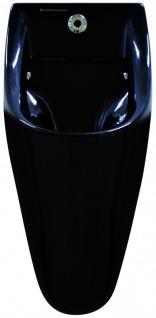 Fumagalli Urinal mit elektronischem Spülsystem - schwarz - Photozelle - Keramik