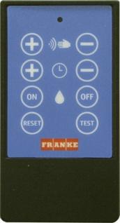 Franke Fernbedienung für Wascharmaturen zur Einstellung von Funktionsparametern