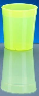 20er Set Mehrweg-Becher 0, 5l - gelb - Kunststoff - Vorschau 2