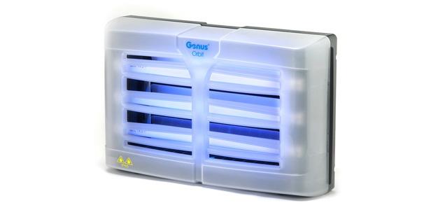 Genus® Orbit Jet Insektenvernichter mit 3 x 15W Splitterschutzlampen und mit IP65