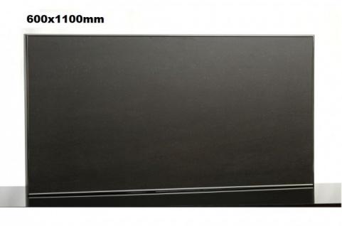 Infrarot Tafelheizung 600x1100mm mit Alurahmen und Wandhalterung von Elbo Therm