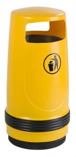 Merlin Abfallbehälter aus Kunststoff 90 Liter