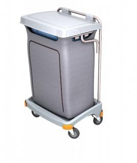 Splast Einzel-Müllentsorgungswagen 120l mit Abdeckung - der Deckel ist optional - Vorschau 2