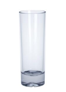 Longdrink Glas exklusiv aus Kunststoff 0, 2l SAN glasklar wiederverwendbar
