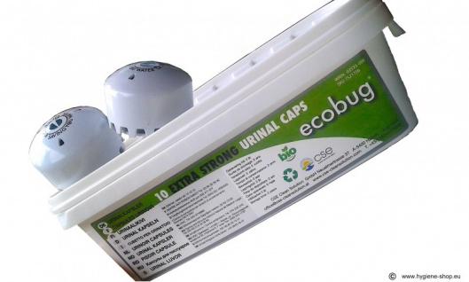 10-er - Set EcoBug® Extra strong urinal cap - wassersparendes Urinal-System