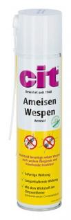 Cit Ameisen Wespen Aerosolspray 400ml mit Sprührohr für Spalten und Ritzen