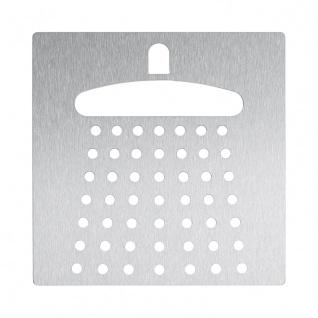 Wagner-EWAR Piktogramm Dusche AC494 Edelstahl matt geschliffen