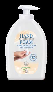 Schaumseife im Seifenspender von Hygan Unyrain - HandFoam für sehr gute Reinigung - Vorschau 1