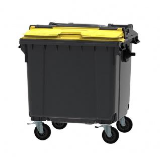Container 1100 Liter mit SPLIT LID