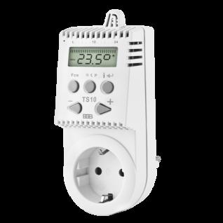 Elbo Thermostat TS10 mit Temperatur- und Zeiteinstellung
