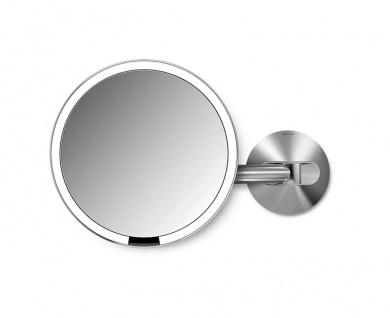 Sensor Wandspiegel (100-240V) verdrahtet, Simplehuman Edelstahl - Vorschau 2