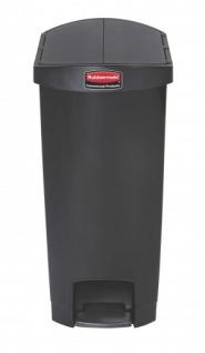 RUBBERMAID Slim Jim® Kunststoff-Tretabfallbehälter mit Pedal an der Schmalseite 50 L - Vorschau 5