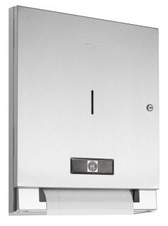 Wagner-EWAR Elektrischer Papierrollenspender Batteriebetrieb WP1311 Edelstahl für Unterputzmontage