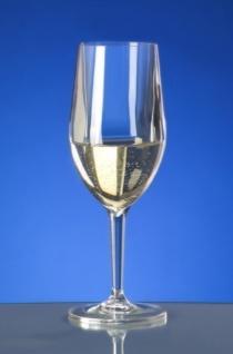 6er Set Kunststoff Weinglas Vinalia 1/8l SAN glasklar wiederverwendbar - Vorschau 2