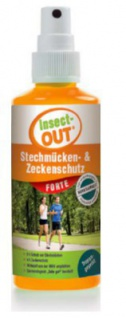 Set 1 Karton mit 10 Stück Insect-OUT® Stechmücken und Zeckenschutz forte 100 ml - Vorschau 2
