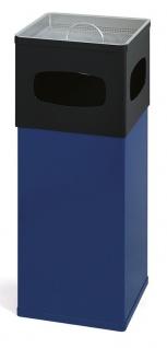 Ascher-Papierkorb 50L aus Aluminium
