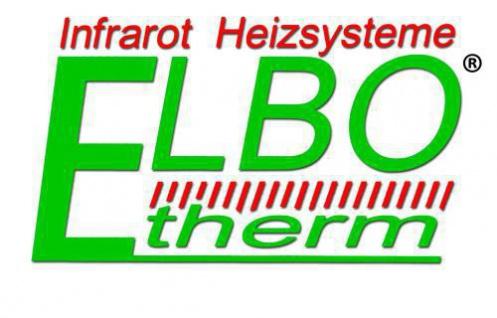 Infrarotheizung Set Easy 600W mit Wandhalterung und Holzfüsse von Elbo Therm - Vorschau 3