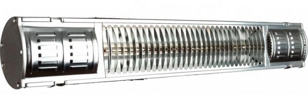 Infralogic HeizMeister Professional 1500 Watt aus Aluminium zur Wandmontage