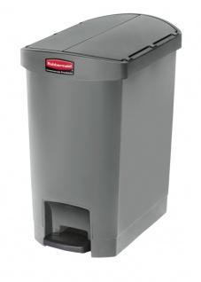 Slim Jim Step On Container End Step Kunststoff 30 Liter, Rubbermaid