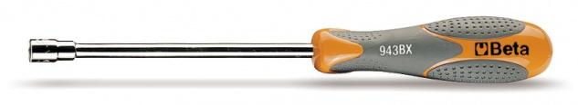 Beta Sechskant-Steckschlüssel lange Ausführung verchromt 943BX