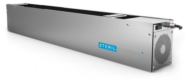 Umluftdesinfektionsgerät ULE1000 von Sterilsystems zur Wand- oder Deckenmontage