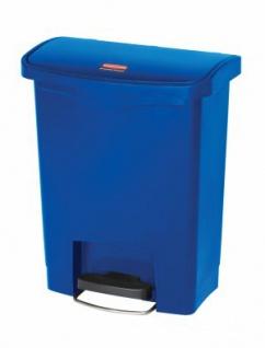 RUBBERMAID Slim Jim® Kunststoff-Tretabfallbehälter mit Pedal an der Breitseite 30 L