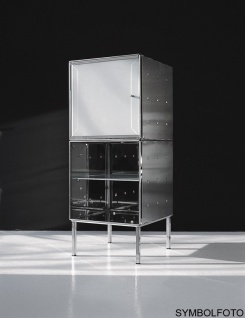 Graepel High Tech erstklassiger QBO base x Würfel aus poliertem Edelstahl