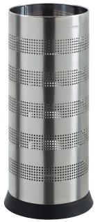 Kipso Schirmständer 28 Liter mit gelochtem Korpus aus Stahl von Rossignol
