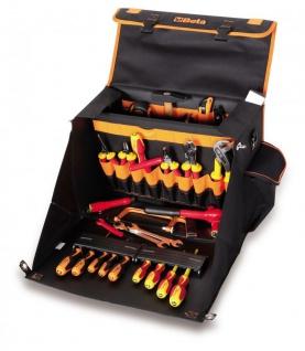 Beta Werkzeugsortiment 60 teilig inkl. Werkzeugtasche aus High-Tech-Gewebe