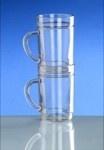 G`spritzter-Schorle-Glas 0, 25l SAN glasklar Kunststoff stapelbar lebensmittelecht - Vorschau 4