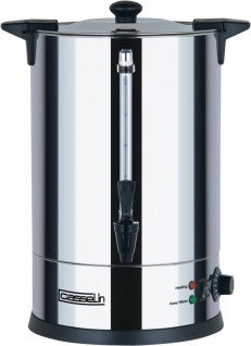 Casselin Wasserkocher 15l aus Edelstahl 1650W - Anti-Brand und Anti-Tropfsystem