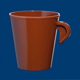 10er Set Espresso Tasse 0, 2l SAN aus Kunststoff wiederverwendbar - Vorschau 2