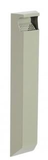 Rossignol Arkea robuster Wandascher 3 Liter aus rostfreiem Stahl ohne Schloss