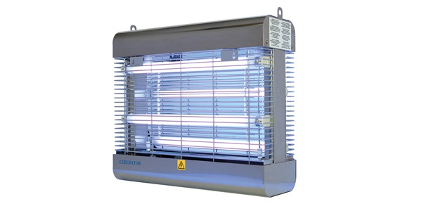 Genus® Liberator Killer 4 x 15W Splitterschutz Lampen IEC Edelstahl Insektengriller - Vorschau 1