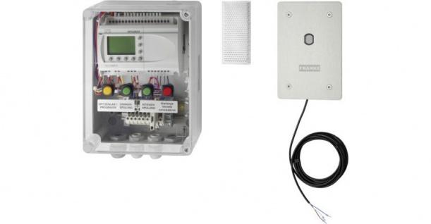 Franke Lichtschrankensteuerung zur automatischen Spülung von Reihenurinalanlagen