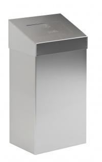 Abfallbehälter mit Pushdeckel 18 Liter