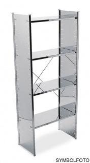 Graepel High Tech hochwertiges H2 Regalsystem aus verzinktem Stahl