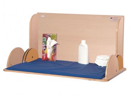Wandwickeltisch im Querformat aus Holz erhältlich in Weiß oder Buche KAWAQ von Timkid - Vorschau 3