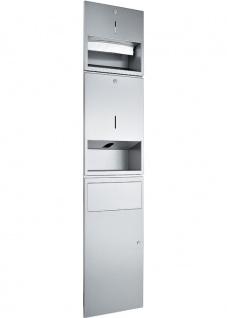 Wagner-EWAR Kombination 250Bl./950ml Sensor-Seife/11l WP500e Edelstahl für Unterputzmontage