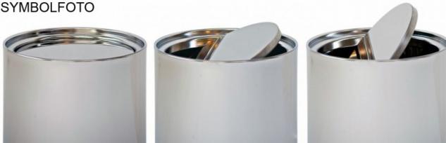G-Line Pro Abfalleimer Swinging Stahl schwarz lackiert mit verzinktem Inneneimer - Vorschau 3