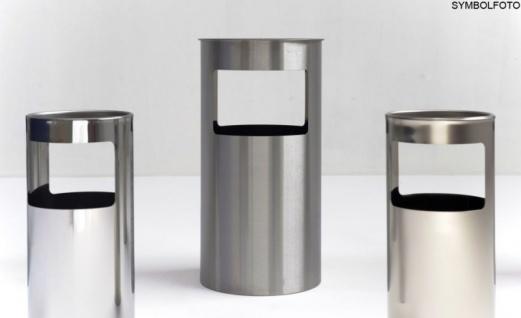 Graepel G-Line Pro LIVIGNO outdoor Standascher aus geschliffenem Edelstahl 1.4301 - Vorschau 2
